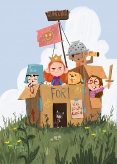 Cardboard Fortress on