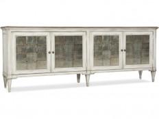 Hooker Furniture Living Room Arabella Four-Door Credenza 1610-85006-WH