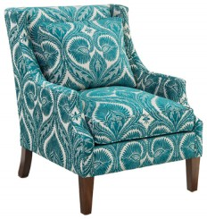 John Richard 2047 Fabric Scoop Arm Chair - Transitional - Armchairs And Accent Chairs - by Benjamin Rugs and Furniture