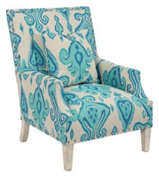 John Richard 2055 Fabric High Back Scoop Arm Club Chair - Traditional - Armchairs And Accent Chairs - by Benjamin Rugs and Furniture
