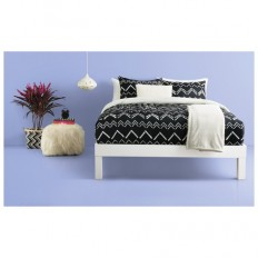 Black Chevron Stripe Comforter Set - Room Essentials? : Target