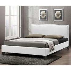 Battersby Designer Bed with Upholstered Headboard - Bed Bath & Beyond