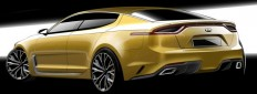 Kia Stinger Design Sketch Render