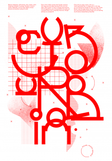 Cyburbia Poster by Andrea Dell'Anna on Inspirationde