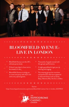 Hippodrome Casino — Bloomfield Avenue - Live in London