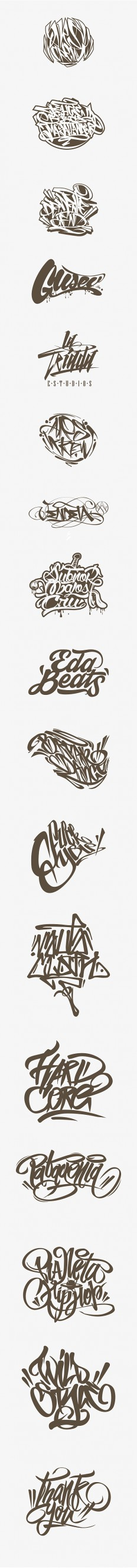 Calligraffiti - Lettering by Jorge Canicura on Inspirationde