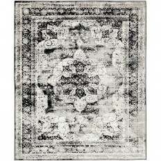 Unique Loom Sofia Black 8 ft. x 10 ft. Area Rug-3137798 - The Home Depot