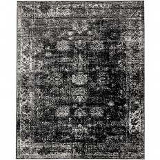 Unique Loom Monaco Black 8 ft. x 10 ft. Area Rug-3137804 - The Home Depot