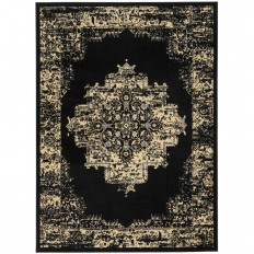 Nourison Grafix Black 8 ft. x 10 ft. Area Rug-394040 - The Home Depot