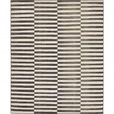 Unique Loom Tribeca Black 8 ft. x 10 ft. Area Rug-3129670 - The Home Depot