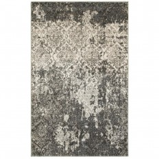 LR Resources Matrix Stone/Silver Blue 8 ft. x 9 ft. Indoor Area Rug-MATRI81191SSB7995 - The Home Depot