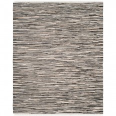 Safavieh Rag Rug Black/Multi 8 ft. x 10 ft. Area Rug-RAR129Q-8 - The Home Depot