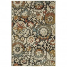 Shop Mohawk Home Jeslynn Indoor Nature Area Rug (Common: 8 x 10; Actual: 8-ft W x 10-ft L) at Lowes.com