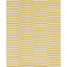 Unique Loom Tribeca Yellow 8 ft. x 10 ft. Area Rug-3129640 - The Home Depot