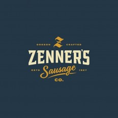 Zenner's Sausage Co. by @murmurcreative on Inspirationde