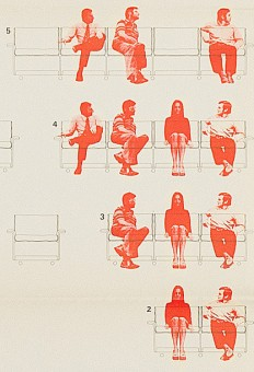 1972: 620 Chair Programme poster by Wolfgang Schmidt on Inspirationde