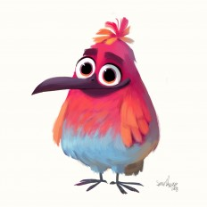 ArtStation - Friday's Bird, Sam Nassour