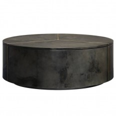 Panavista Sundial Cocktail Table in Graphite - 704-85-04