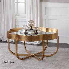 Uttermost Cydney Gold Coffee Table
