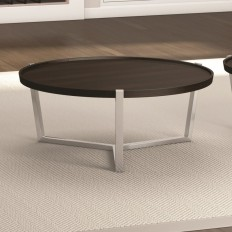 Caravel Cirque Coffee Table with Tray Top & Reviews | Wayfair