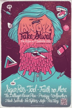 Artoyz Fake'stival Exhibition on Inspirationde