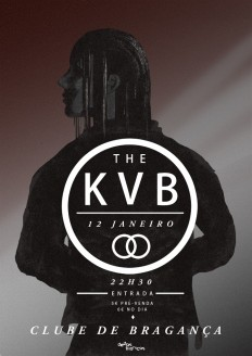 Poster for The KVB show in Bragança, promoted by Dedos Bionicos. on Inspirationde