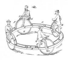 Sturdy & Young Velocipede – Old Book Illustrations