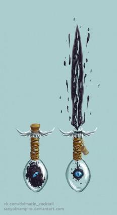 zalgo sword by SanyokVAMPIRE on Inspirationde
