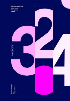 Poster by Xavier Esclusa / Twopots Design Studio on Inspirationde