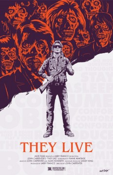 They Live poster by Matt Talbot on Inspirationde