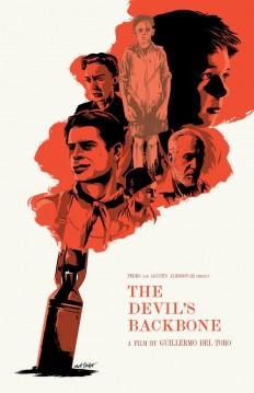 The Devil's Backbone poster by Matt Talbot on Inspirationde