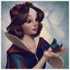 ArtStation - Snow White, Leandro Franci