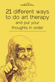 21 different ways to do art therapy and put your thoughts in order on Inspirationde