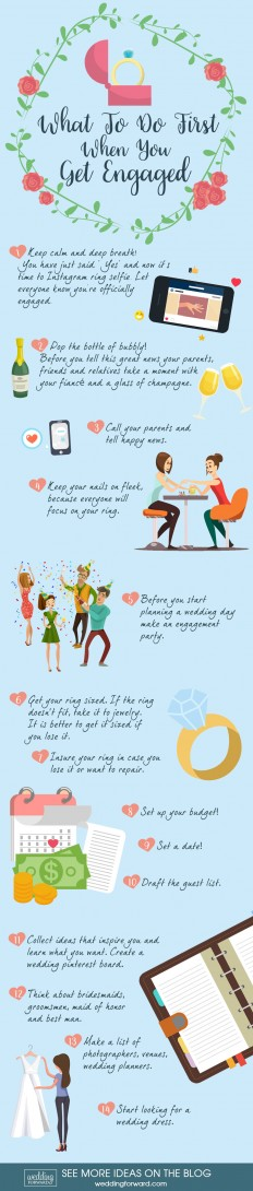 6 Things You Should Know After Getting Engaged | Wedding Forward