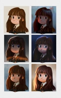 ArtStation - Hermione, Rachel Christin
