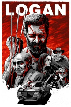 Logan illustrated alt poster on Inspirationde