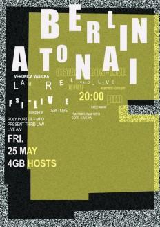 Festival Poster Berlin Atonal | Budarina diana on Inspirationde