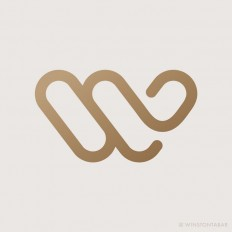 W Logo Personal Identity by Winston Tabar on Inspirationde
