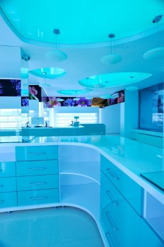 Glamshops visual merchandising & shop reviews - PHARMAPLUS amnejare si design interior farmacie falticeni, k lab suceava