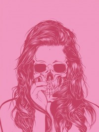 Inspiration of the day #32 // Scott Fustin // Skull Girls | Lickmystyle