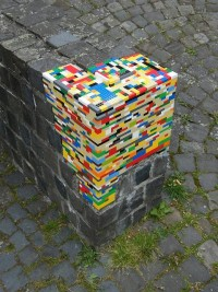 Examples of Lego Street Art from around the world — Lost At E Minor: For creative people