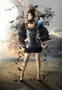 bird in cage by ~SyntheticParadox
