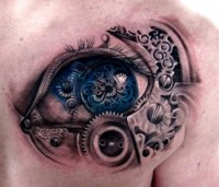Piccsy :: Steam Punk Eye Tattoo