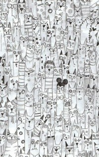 art,cat,cats,drawing,illustration,fun-0db7e4d5b37aafc26c92453d606d3d69_h.jpg (314×500)