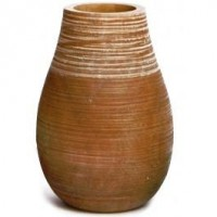 Classic Medium Wooden Vase - Vases | Wooden Vases - Decor Accessories