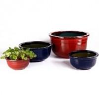 Glazed Pottery Zion - Garden Pots | Pottery - Garden