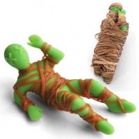 Mummy Mike Rubber Band Holder - eclectic - desk accessories - - by Perpetual Kid
