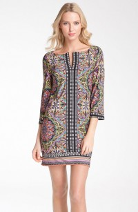 Laundry by Shelli Segal Print Tunic Dress | Nordstrom