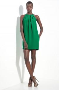 Jay Godfrey 'Hagen' Pleated Shift Dress | Nordstrom