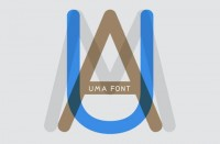 campsite   uma font